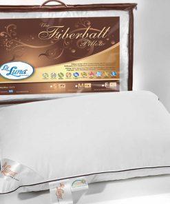 Μαξιλάρι Ύπνου Fiberball Pillow Medium με μπαλάκια σιλικόνης (50x70) της La Luna
