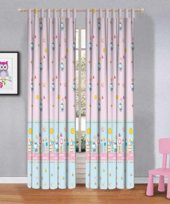 Hello Kitty HK8149-1 Παιδική Κουρτίνα με Τιράντες της DISNEY / VASILAS Home (140x290)