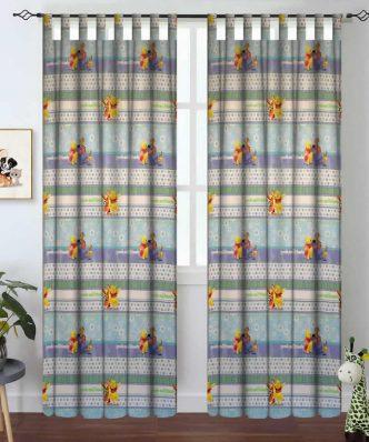 Winnie Pooh - HONEYDAY 38 Παιδική Κουρτίνα με Τιράντες της DISNEY / VASILAS Home (140x290)