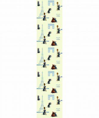 Ρατατούης - REMY 13 Παιδική Κουρτίνα με Τιράντες της DISNEY / VASILAS Home (140x290)
