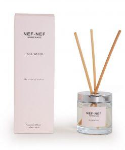Αρωματικό Χώρου με Στικς ROSE WOOD της NEF-NEF