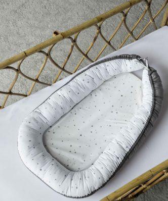 Βρεφική Φωλιά (bebe) BABY NEST της NIMA HOME (82x48x13) GRAY