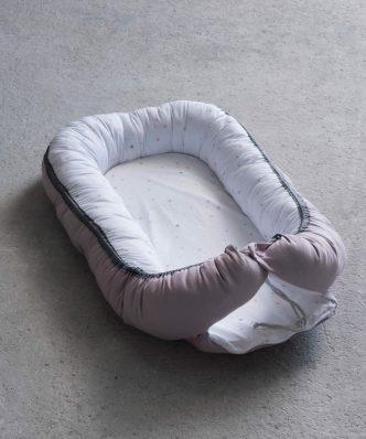 Βρεφική Φωλιά (bebe) BABY NEST της NIMA HOME (82x48x13) PINK