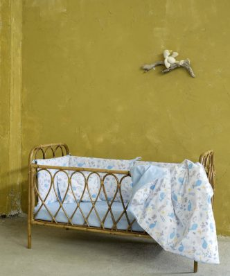 Βρεφικό (bebe) Κουβερλί Κούνιας BALEEN της NIMA HOME (100x140)