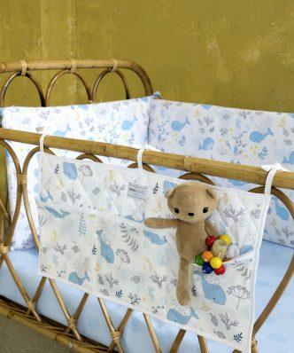 Βρεφική (bebe) Πάντα BALEEN της NIMA HOME (40x200)