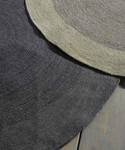 Στρογγυλό Χαλί BERGREN της NIMA HOME (Δ: 90 cm) BEIGE