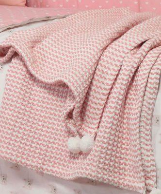 Βρεφική (bebe) Βαμβακερή Κουβέρτα Κούνιας CAT της NEF-NEF (110x150)