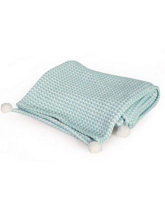 Βρεφική (bebe) Βαμβακερή Κουβέρτα Κούνιας DOG της NEF-NEF (110x150)