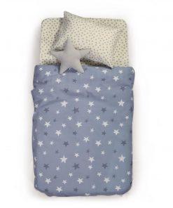 Παιδική Κουβέρτα Πικέ Μονή FANTASY της NEF-NEF (160x240) BLUE