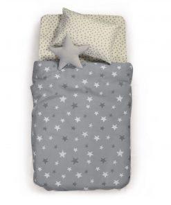 Παιδική Κουβέρτα Πικέ Μονή FANTASY της NEF-NEF (160x240) GREY