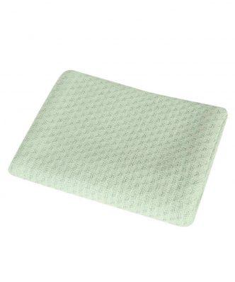 Βρεφική (bebe) Κουβέρτα Κούνιας SMOOTH GREEN της NEF-NEF (110x150)