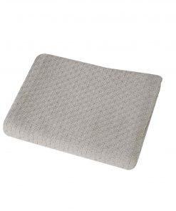 Βρεφική (bebe) Κουβέρτα Αγκαλιάς SMOOTH GREY της NEF-NEF (80x110)