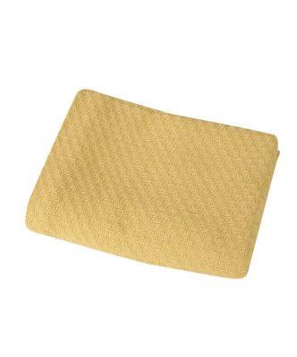 Βρεφική (bebe) Κουβέρτα Κούνιας SMOOTH MUSTARD της NEF-NEF (110x150)