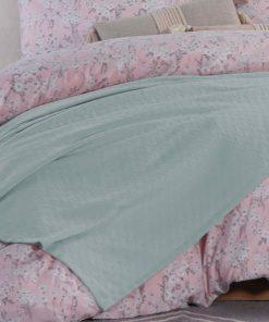 Καλοκαιρινή Κουβέρτα Υπέρδιπλη SUMMER 20 της NEF-NEF (230x240) AQUA
