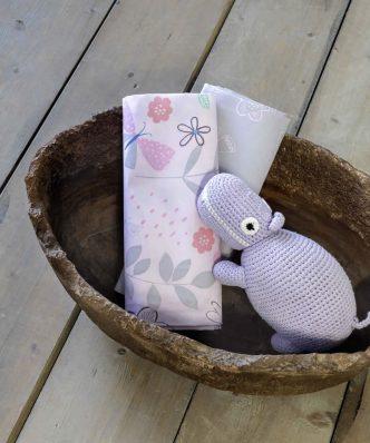 Σετ Βαμβακοσατέν Βρεφικά (bebe) Σεντόνια Αγκαλιάς CHICKIE της NIMA HOME (70x110)
