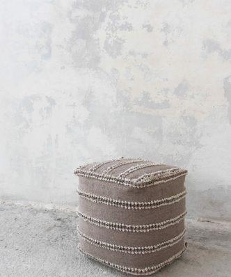 Πουφ DOLORES της NIMA HOME (40x40x40)