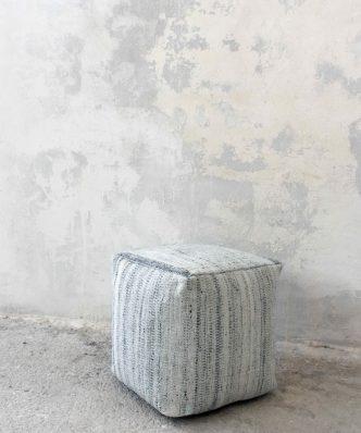Πουφ KANDER της NIMA HOME (40x40x40)