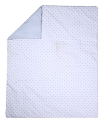 Βρεφικό Κουβερλί Κούνιας ABOVE THE STARS της NEF-NEF (110x140)