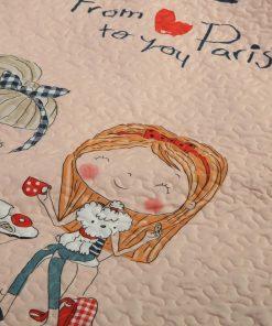 Παιδικό Κουβερλί Μονό FROM PARIS της NEF-NEF (160x220)