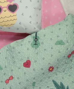 Παιδικό Κουβερλί Μονό PINEAPPLE DREAM της NEF-NEF (160x220)