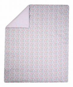 Βρεφικό Κουβερλί Κούνιας TROPICAL BLOSSOM της NEF-NEF (110x140)