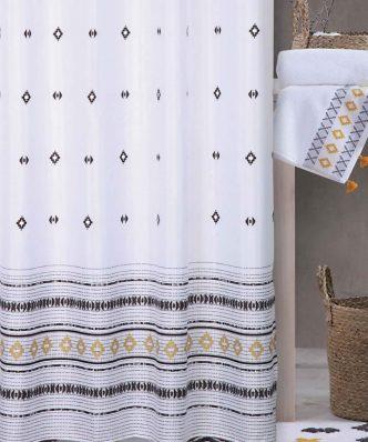Κουρτίνα Μπάνιου PEREZ της NEF-NEF (180x200) WHITE