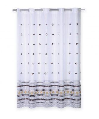 Κουρτίνα Μπάνιου PEREZ της NEF-NEF (180x180) WHITE