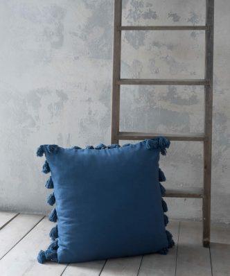 Διακοσμητική Μαξιλάρα Δαπέδου LIEVE της NIMA HOME (65x65) BLUE