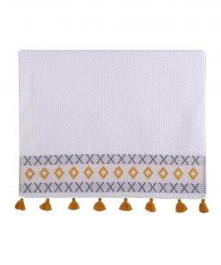 Πετσέτα Χεριών PEREZ της NEF-NEF (30x50) WHITE
