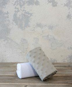 Σετ Βρεφικά (bebe) Σεντόνια Αγκαλιάς POOKIE της NIMA HOME (70x110) BEIGE