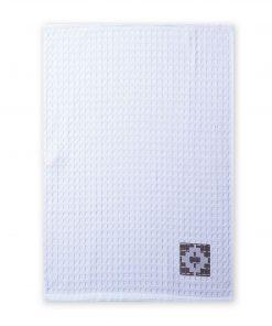 Ποτηρόπανο Πικέ PEREZ της NEF-NEF (45x68) WHITE