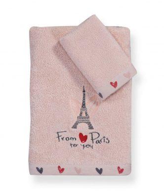 Σετ Παιδικές Πετσέτες Μπάνιου (2τμχ) FROM PARIS της NEF-NEF
