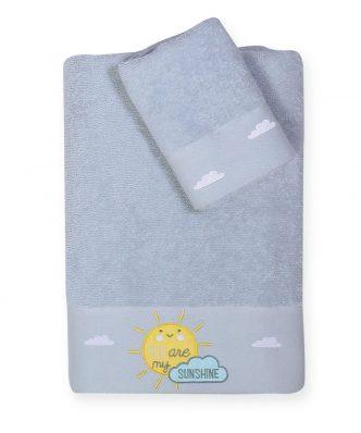 Σετ Βρεφικές (bebe) Πετσέτες (2τμχ) SUNSHINE της NEF-NEF (30x50-70x140)