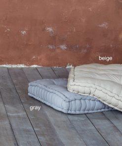 Μαξιλάρα Δαπέδου SIESTA της NIMA HOME (165x65x15) BEIGE