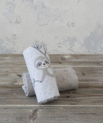 Σετ Βρεφικά (bebe) Σεντόνια Αγκαλιάς SLOPPY της NIMA HOME (70x110)