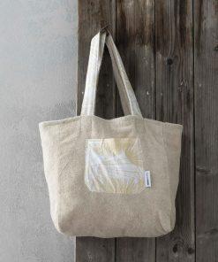 Τσάντα Θαλάσσης 2 όψεων SUNKISSED της NIMA HOME (46x60)
