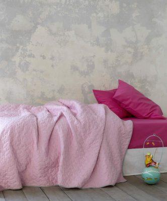 Παιδικό Κουβερλί Μονό TUGGLE της NIMA HOME (160x240) PINK
