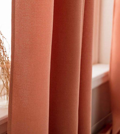 Κουρτίνα με Τρέσα SHINE 661B/03 της GOFIS HOME (140x 280) ΠΟΡΤΟΚΑΛΙ