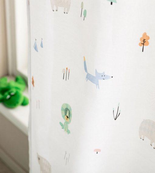 Παιδική Κουρτίνα με Τρέσα ZOOLAND 898 της GOFIS HOME (150x280)