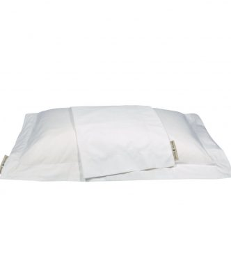 Ζευγάρι Μαξιλαροθήκες Premium 2211 της POLO CLUB (50x70+7) ΛΕΥΚΟ