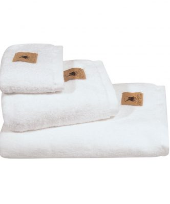 Πετσέτα Προσώπου Essential 2550 της POLO CLUB (50x90) ΛΕΥΚΟ