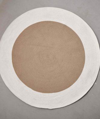 Στρογγυλό Χαλάκι Decor Collection WHEEL της Palamaiki (Δ: 140 cm) BEIGE