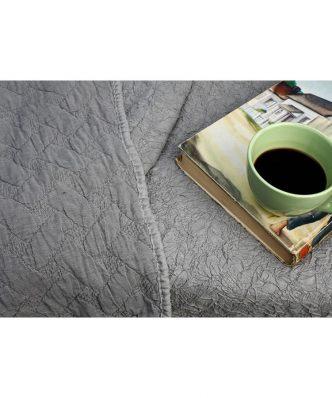 Κουβερλί Υπέρδιπλο CONFI της MELINEN (220x240) GREY