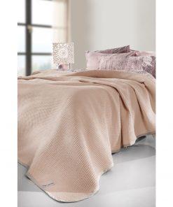 Βαμβακερή Κουβέρτα Μονή JUST της Guy Laroche (165x250) PUDRA