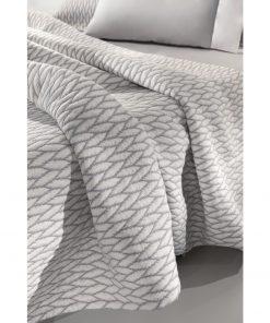 Καλοκαιρινή Κουβέρτα Μονή HARVEY της Guy Laroche (160x260) SILVER