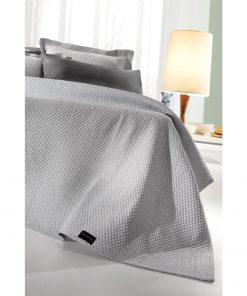 Καλοκαιρινή Κουβέρτα Μονή PORTRAIT της Guy Laroche (160x260) STONE
