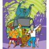 Βρεφική (bebe) Fleece Κουβέρτα Κούνιας SCOOBY DOO 02 της DISNEY / DIMcol (120x150)