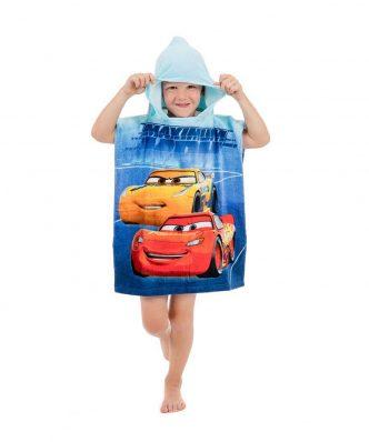 Παιδικό Πόντσο CARS 07 της DISNEY / DIMcol (50x115)