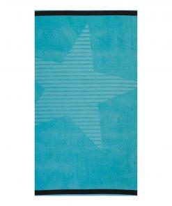 Βελουτέ Πετσέτα Θαλάσσης SUPER NOVA της NEF-NEF (80x160) BLUE