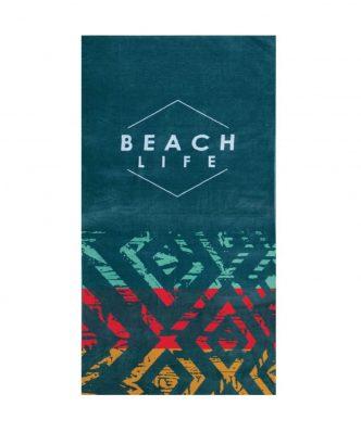 Βελουτέ Πετσέτα Θαλάσσης BEACH LIFE της NEF-NEF (80x160)